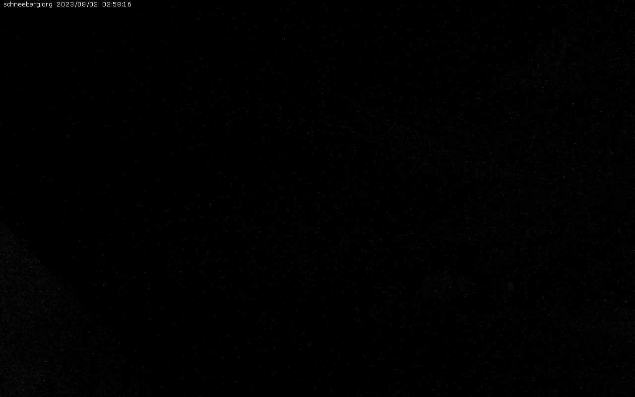 Blick auf Schneeberg
